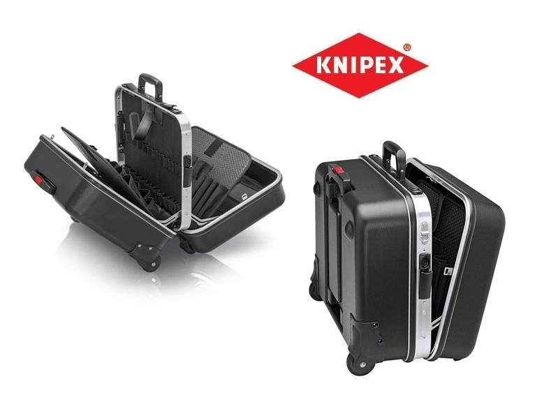KNIPEX Gereedschapskoffer Big Twin Move 510x410x270mm