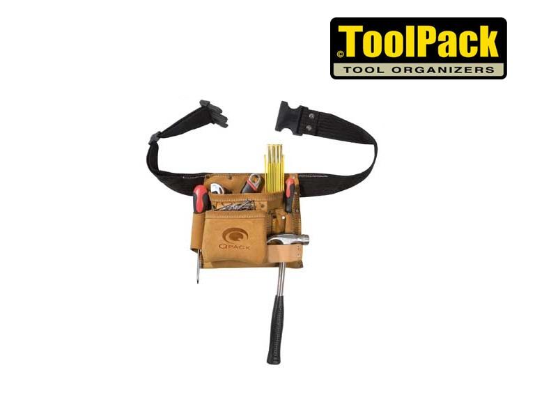 Toolpack gereedschapsriem met 1 holster Regular 220x200mm