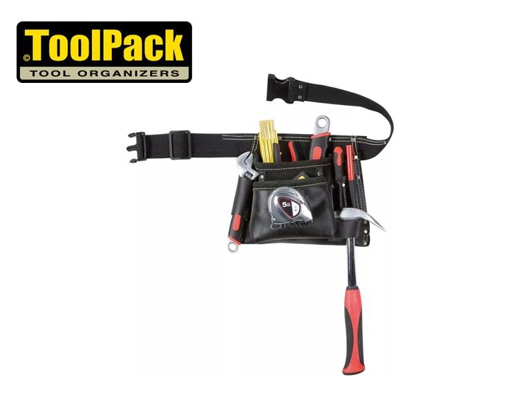 Toolpack gereedschapsriem met 1 holster 250x240mm