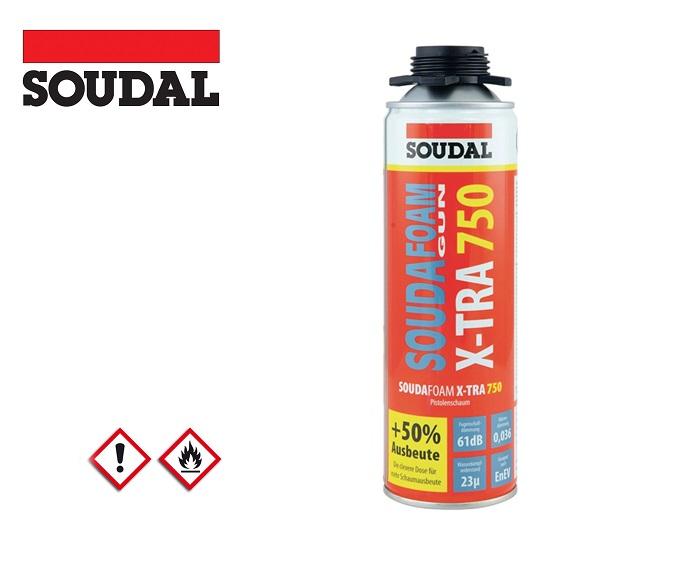 Purschuim 1C SOUDAFOAM X TRA 750 B2 500 ml B2 grijs