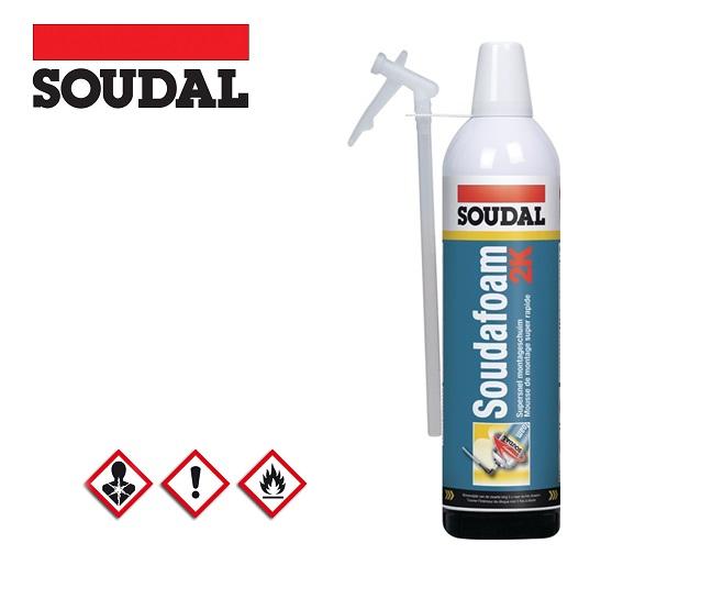 Deurkozijnenschuim 2C SOUDAFOAM 400 ml B2 groen