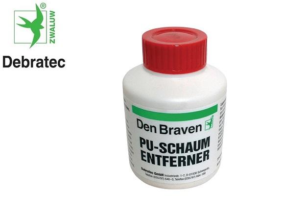 PU-schuimverwijderaar 100 ml borstelbox DEBRATEC
