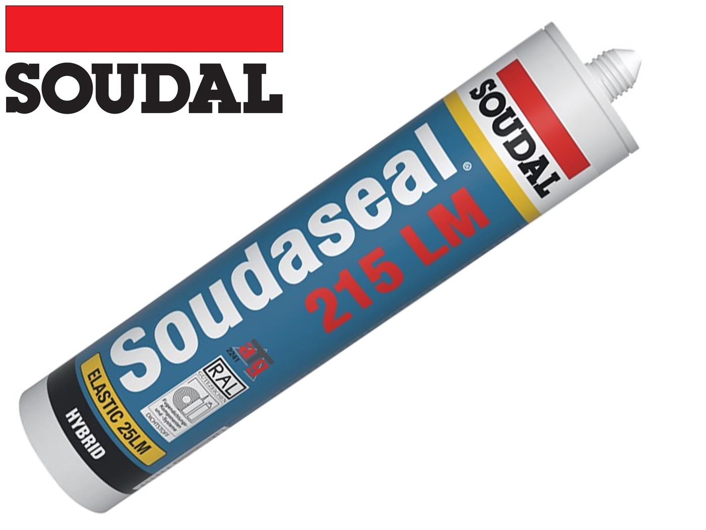 SOUDASEAL 215 LM afdichtingskit 290 ml wit