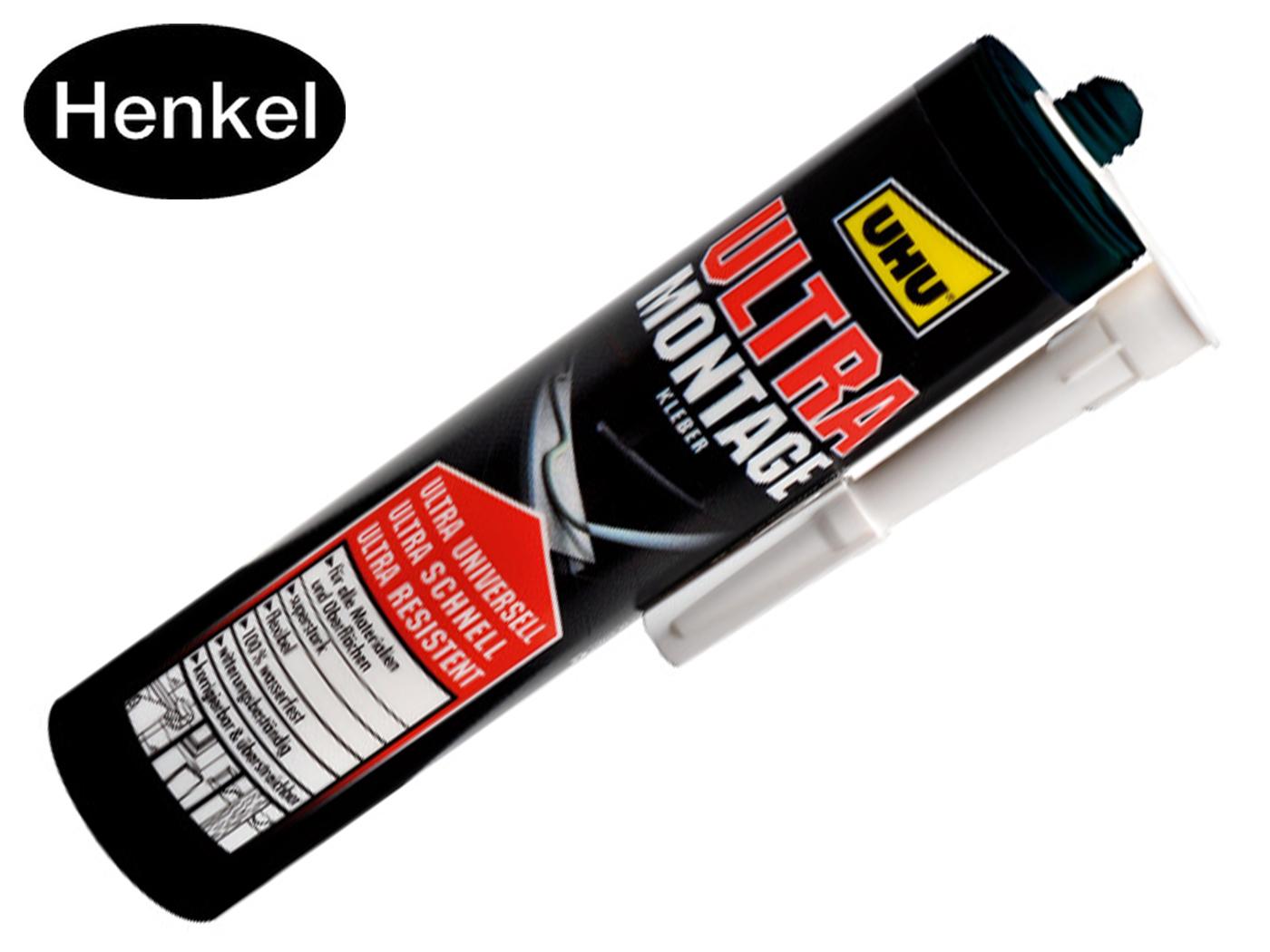 UHU ULTRA MONTAGE kit, water- en weerbestendige cartridge van 435 g
