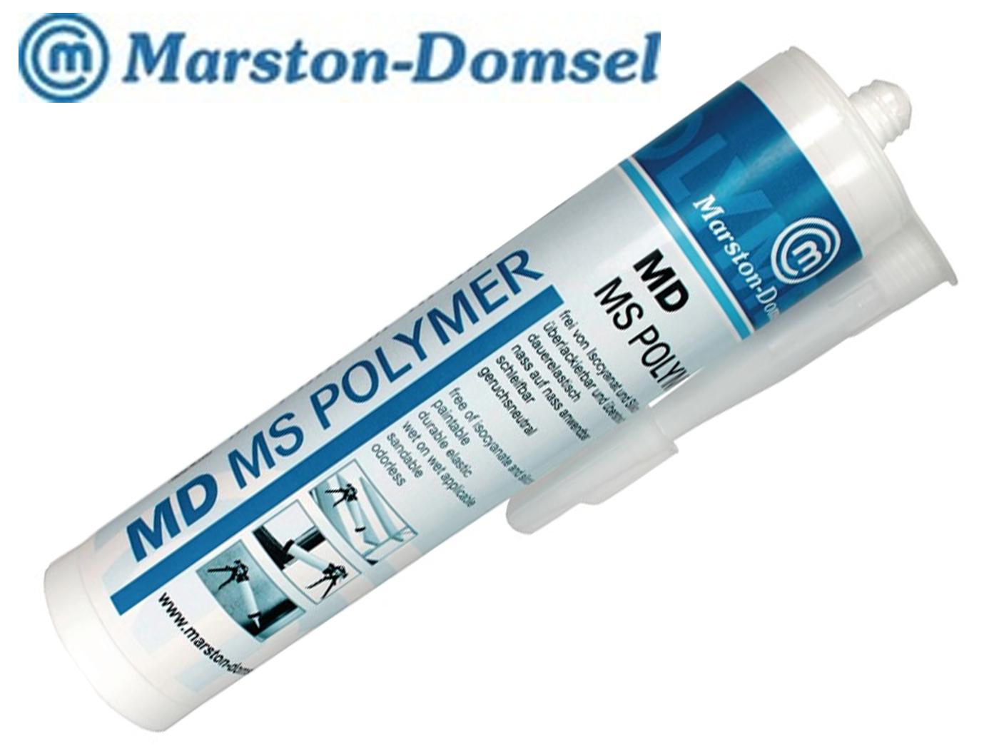 Kleefmiddel / afdichtmiddel MD-MS polymeer 300g transparant