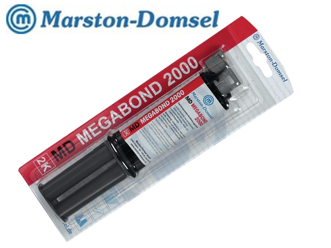 2-componenten high-performance lijm MD-Megabond 2000 25 g melkachtige dubbele spuit MARSTON