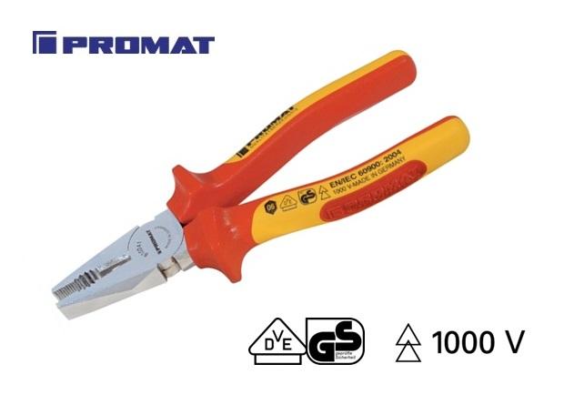 VDE combitang 180mm DIN ISO 5746