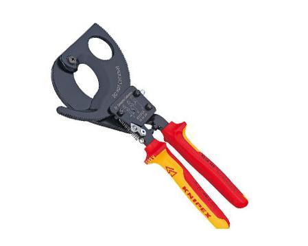 Knipex VDE kabelschaar 250mm Kabel 6-32mm Knipex 95 36 250