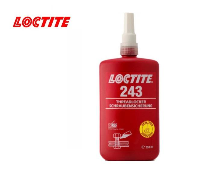 Loctite 243 Schroefdraadborgmiddel 250ml blauw NSF P1,