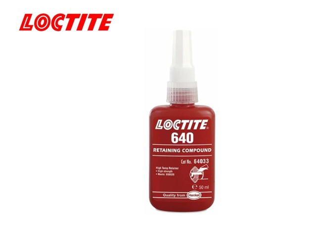 Loctite 640 bevestigingslijm trage uitharding 50 ml