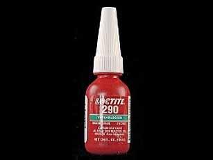Loctite 290 schroefdraadborgmiddel met gemiddelde sterkte tot M6 10 ml