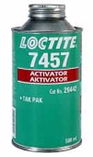 Loctite 7457 Versnellen, ideaal voor kunststoffen die gevoelig zijn voor