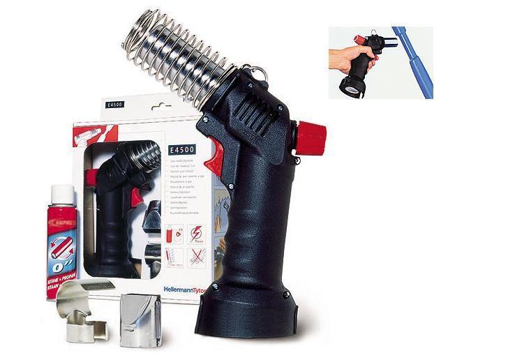 Heteluchtpistoolset op gas HellermannTyton 391-90002