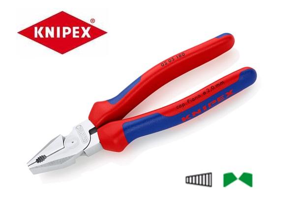 Kracht combinatietang 180mm chroom Knipex 02 05 180