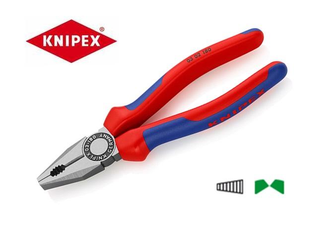 Combinatietang DIN ISO5746 L.160mm m.2-componenten handgrepen gepolijst Knipex 03 02 160