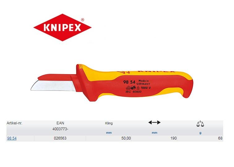 Knipex Kabelmes VDE KR 180mm 98 54