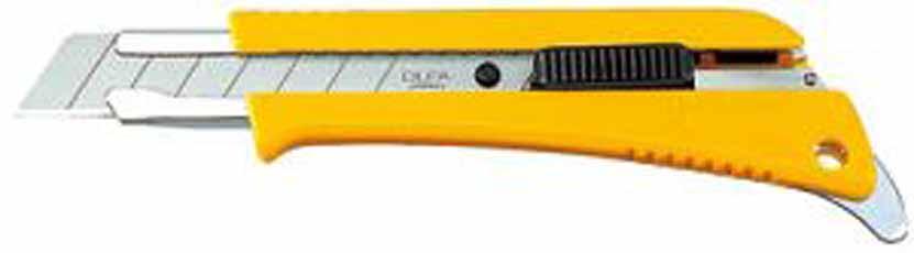 Afbreekmes met dozen en verfblik opener, auto lock, type L5-AL OLFA