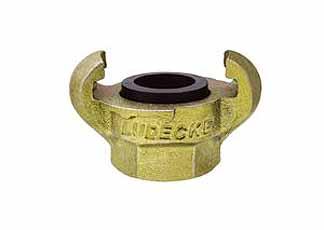 Ludecke klauwkoppeling din 3489, G 1