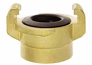 Ludecke geka plus klauwkoppeling voor water met bsp binnendraad 3/8