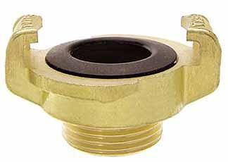 Ludecke geka plus klauwkoppeling voor water met bsp buitendraad 3/8