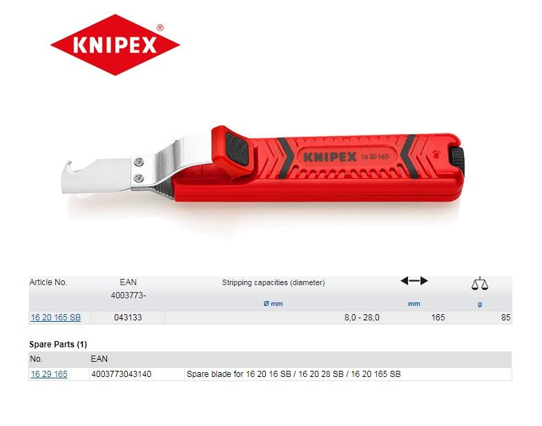 Knipex Kabelmes met haakmes 8 - 28 mm
