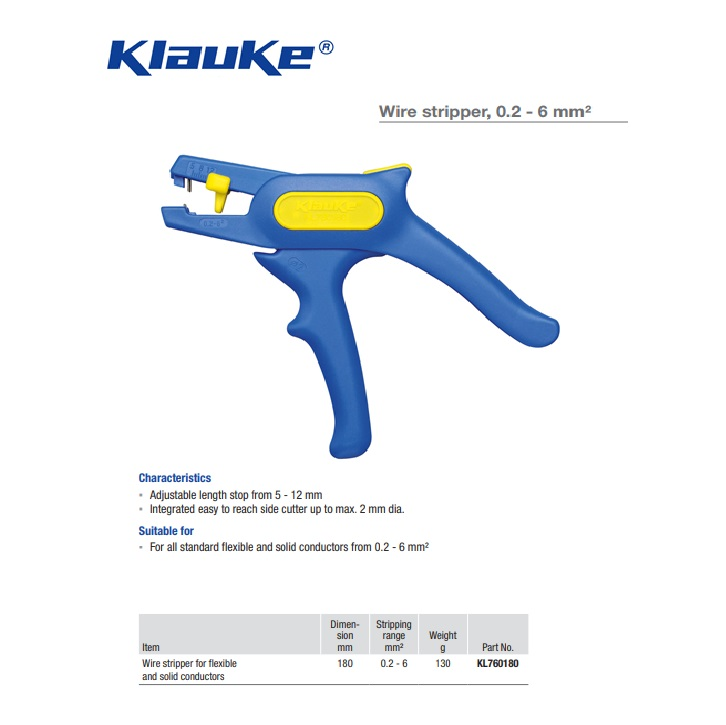 Klauke Striptang 0,5-16mm KL765FR215