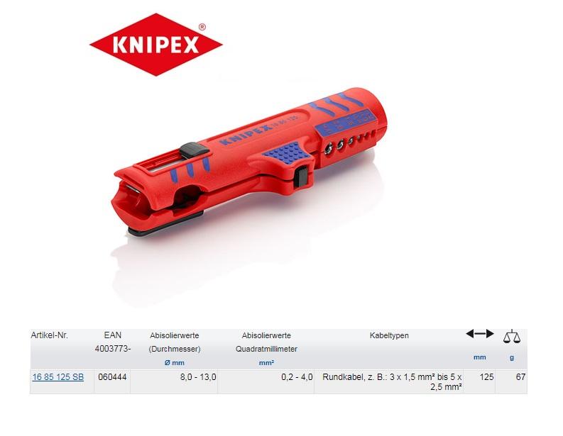 Knipex Universal-Abmantelungswerkzeuge 8-13mm
