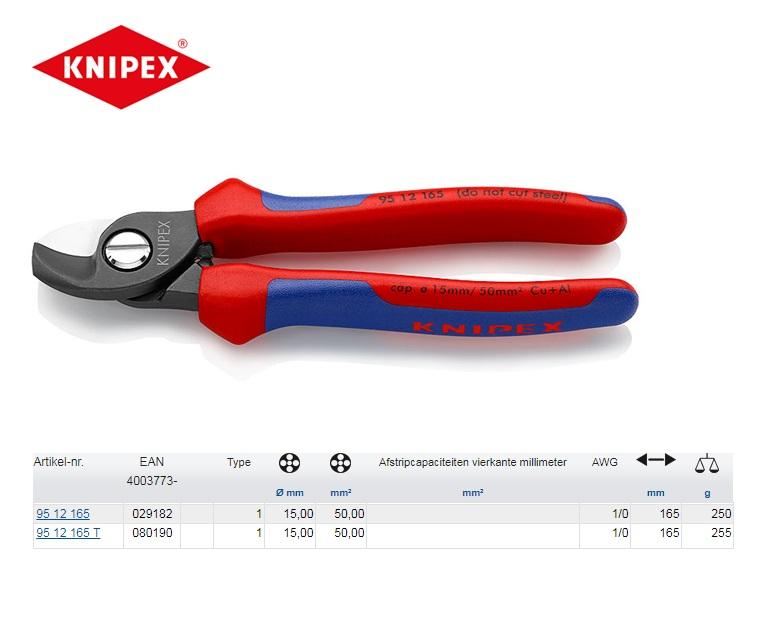 KNIPEX Kabelschaar 165 mm 95 12 165