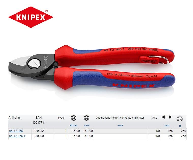 KNIPEX Kabelschaar 165 mm 95 12 165 T