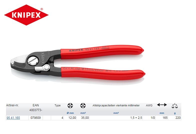 KNIPEX Kabelschaar 165 mm 95 41 165