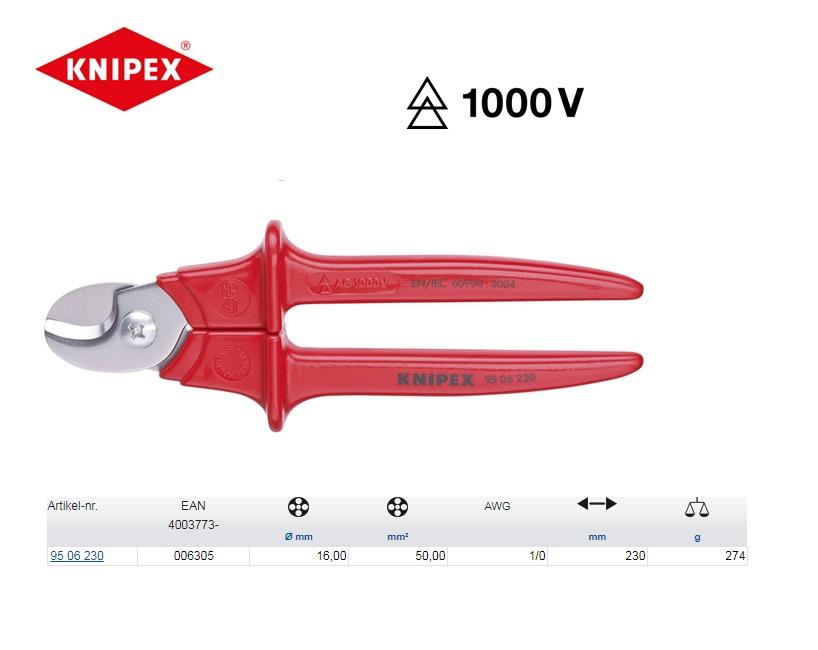 KNIPEX Kabelschaar 230 mm 95 06 230
