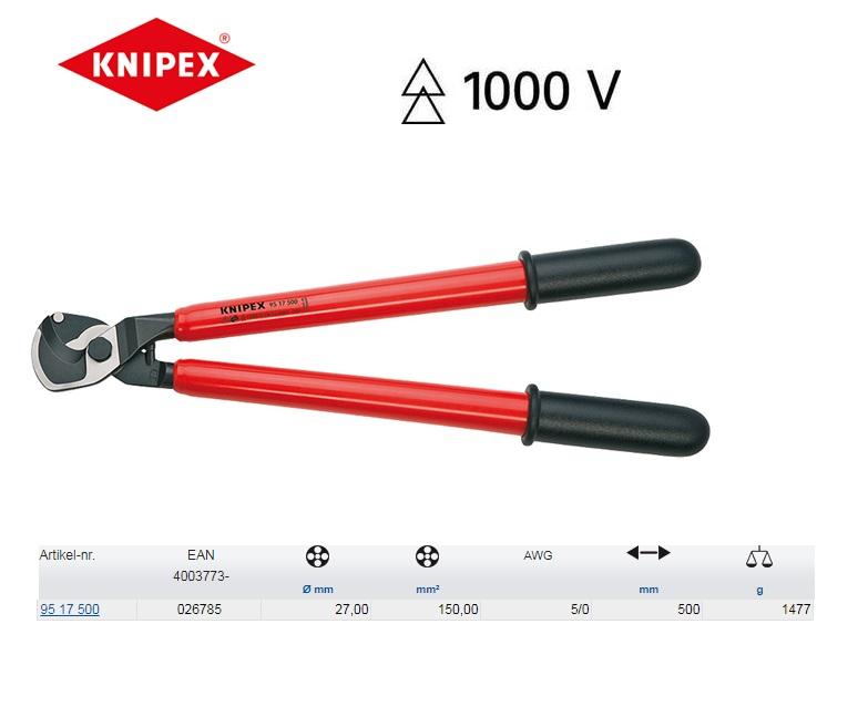 KNIPEX Kabelschaar 200 mm 95 17 500