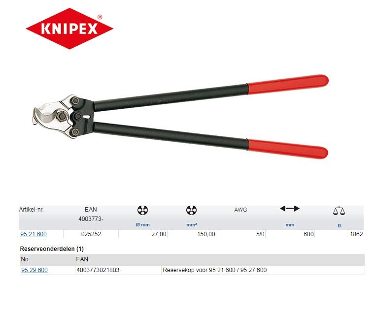 KNIPEX Kabelschaar 600mm 95 21 600