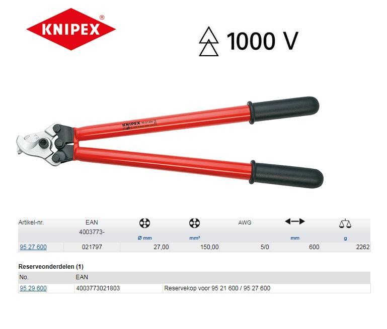 KNIPEX Kabelschaar 600mm 95 27 600