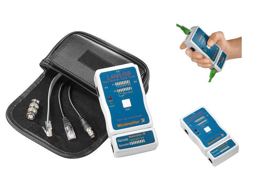 Kabeltester LAN USB Weidmüller 9205400000