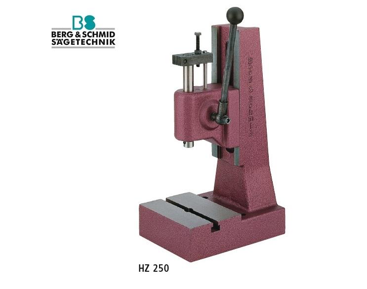 BERG & SCHMID Hefboompers met tandstang HZ 250