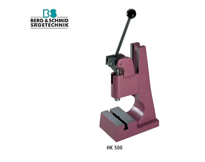 BERG en SCHMID Hefboompers met kniehefboom HK500