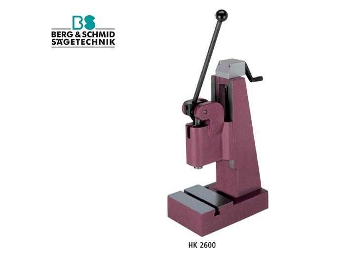 BERG en SCHMID Hefboompers met kniehefboom HK2600