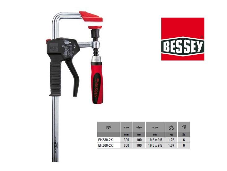 Bessey Eenhandklem EHZ 30, 300x100