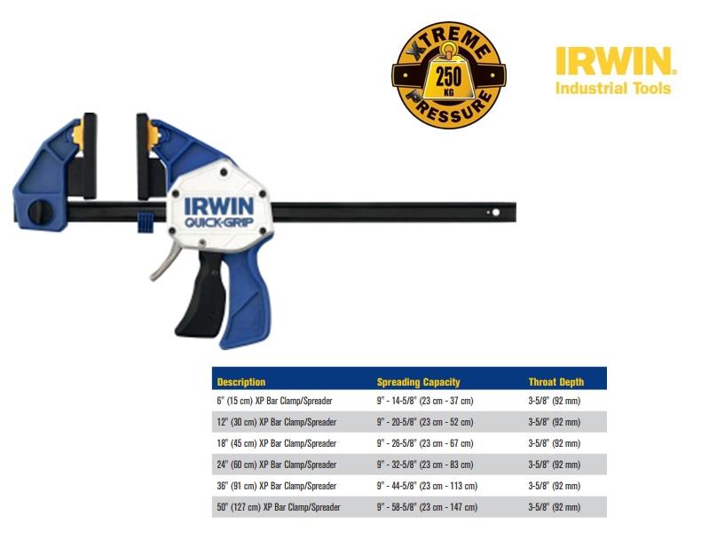 Irwin XP-eenhandssnellijmtang-spreider 300x95mm