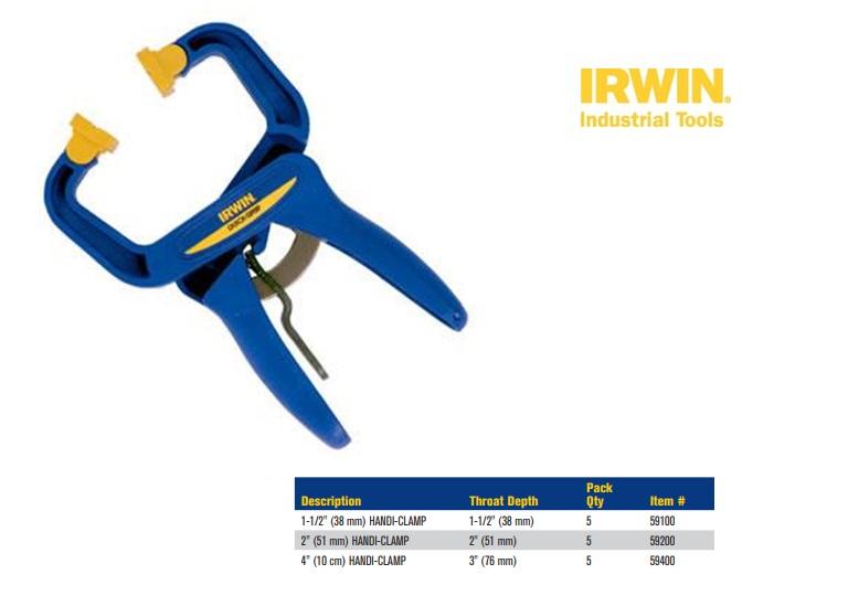 Irwin TP -eenhandssnellijmtang-spreider 75x85mm