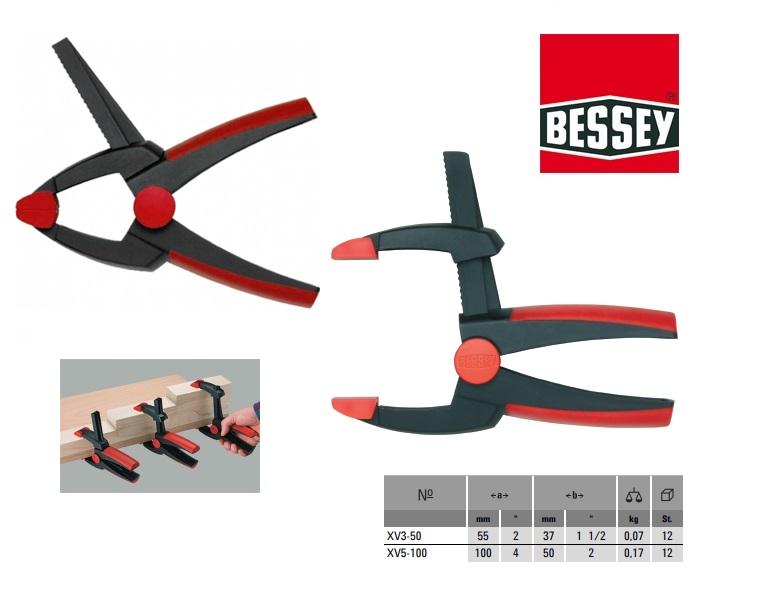 Bessey XV3-50 Veerklem VarioClippix 55x37mm