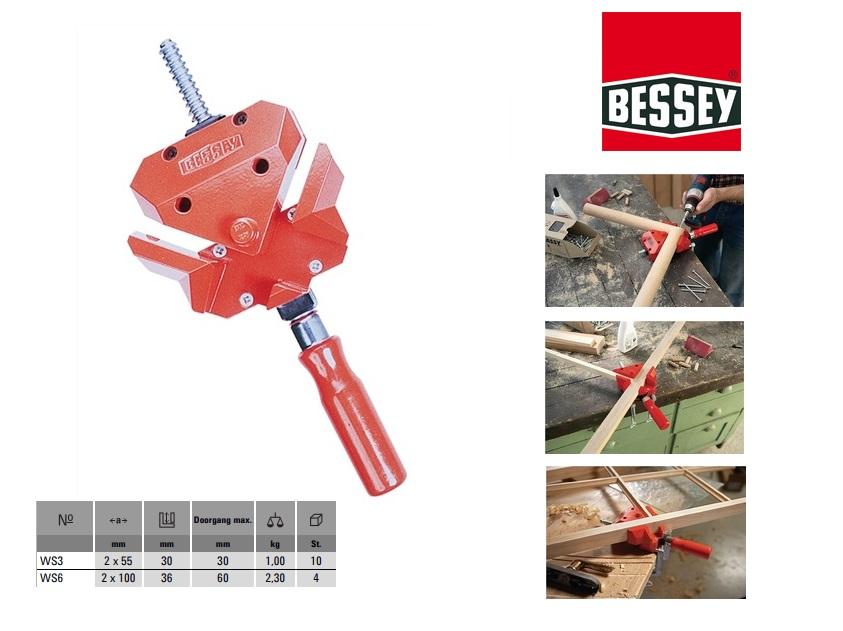 Bessey Hoekspanner 2x55x46mm