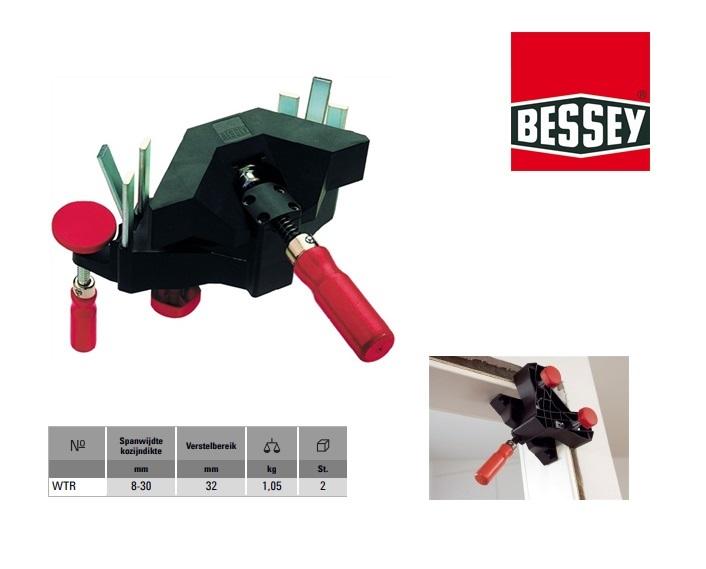 Bessy Hoek-/kozijnuitlijnklem 8-30mm