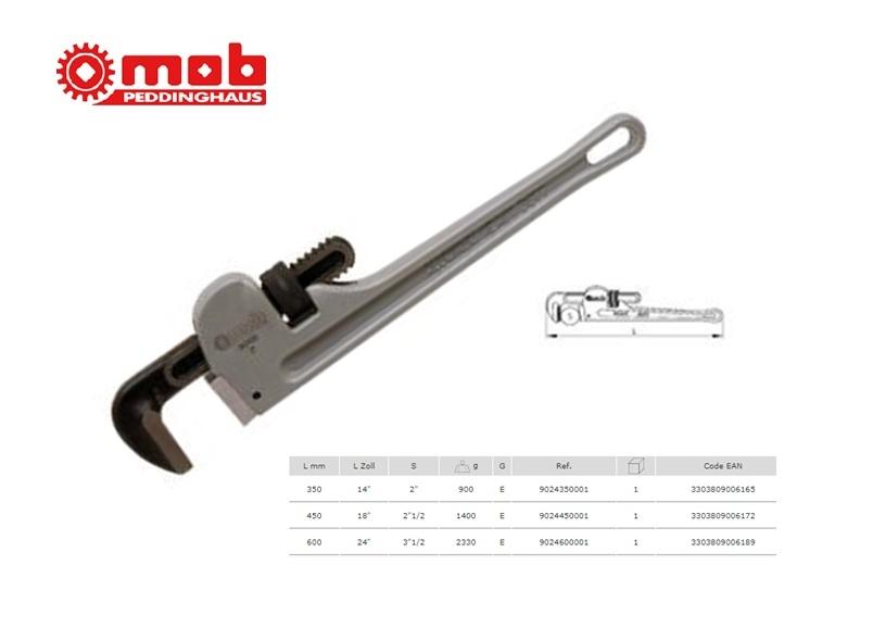 Pijptang aluminium 350 mm 14