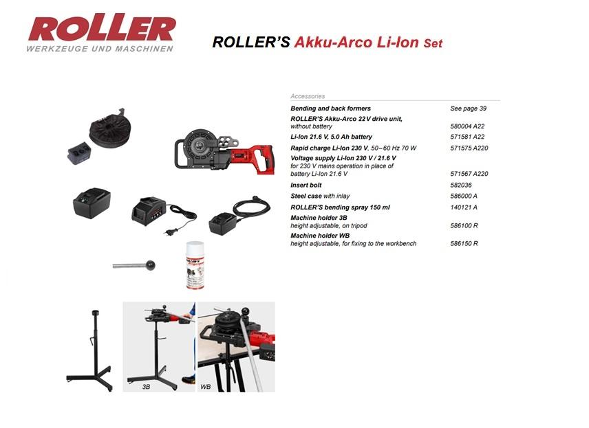 ROLLER`S Akku-Arco 22V B-P\P