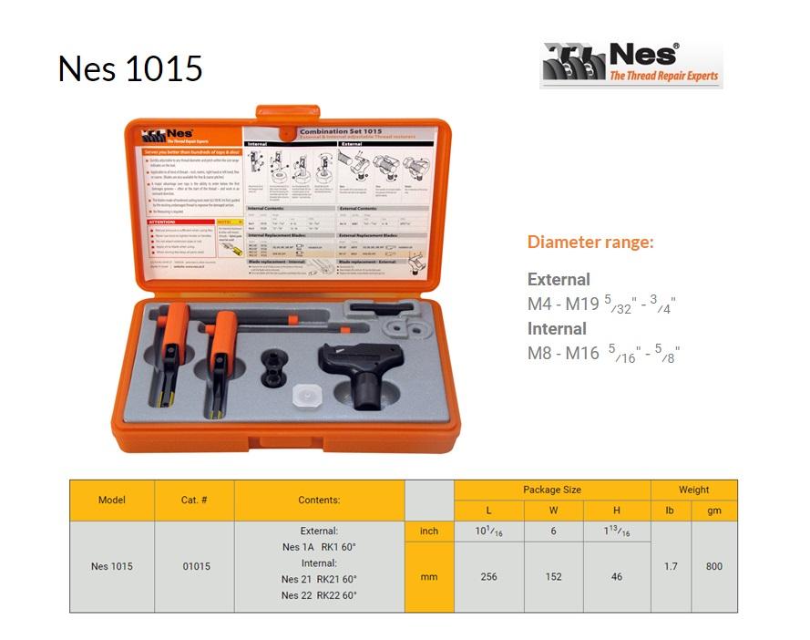 Reparatieset Combinatie inw.8-16mm/uitw.4-19mm NES 1015