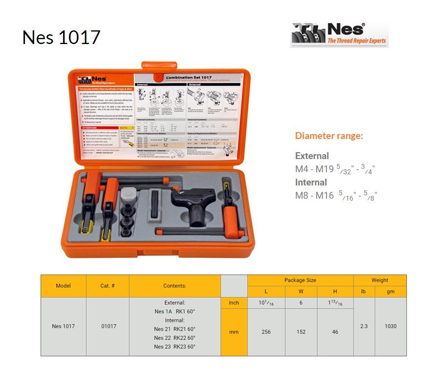 Reparatieset Combinatie inw.8-20mm/uitw.4-19mm NES 1017