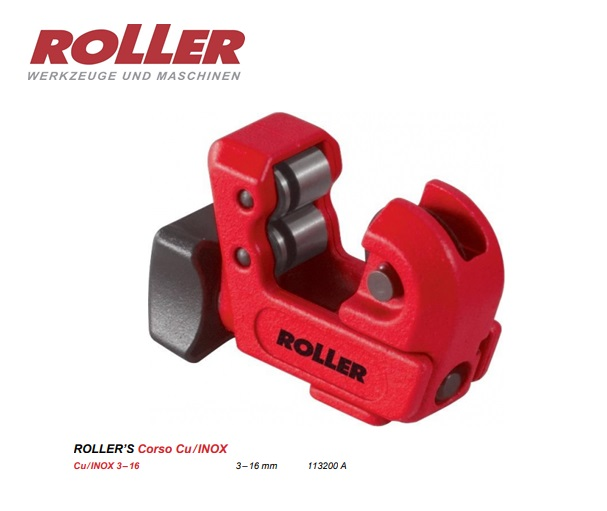 ROLLER Corso Cu Mini-pijpsnijder 3-16mm
