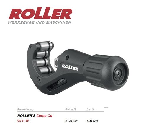 ROLLER Corso Cu Pijpsnijder 3-35mm